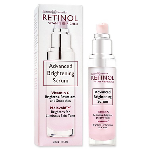 Skincare Cosmetics® Retinol Vitamin Enriched 1 oz. Advanced Brightening Serum