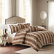 Interior Fur Bed Sheets cozy bedding faux fur lodge sets bed bath beyond