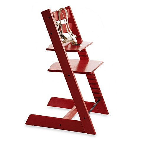 STOKKEu0026reg; Tripp Trappu0026reg; High Chair In Red
