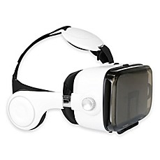 image of Virtual Reality Headset with Earphones