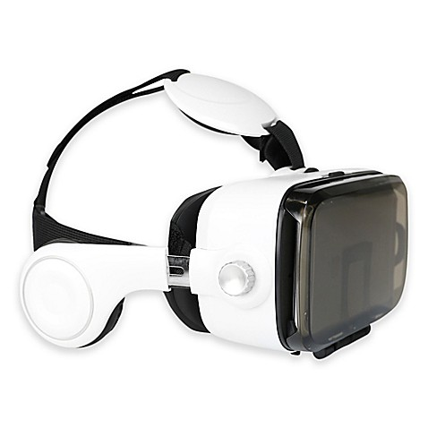 Virtual Reality Headset With Earphones Bed Bath Beyond