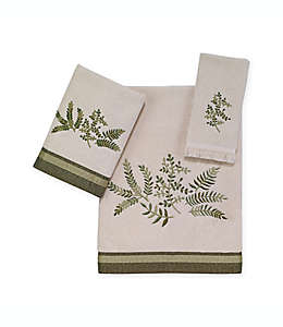 Toalla de medio baño de algodón Avanti Greenwood® color marfil