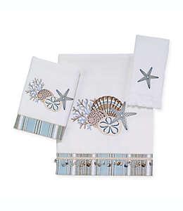 Toalla de medio baño de algodón Avanti By the Sea® color blanco