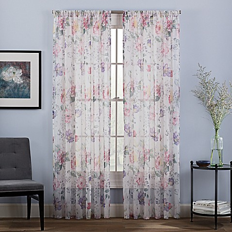 Cosette Sheer Window Curtain Panel