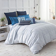 image of Under the Canopy® Shibori Chic Duvet Cover Set in Blue