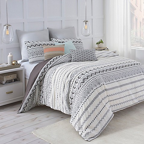 Wonderful Under the Canopy® Abstract Aztec Comforter Set - Bed Bath & Beyond VH43