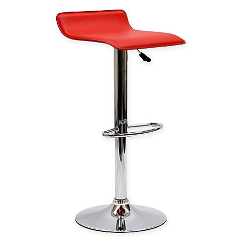 Buy Modway Gloria Barstool In Red From Bed Bath Amp Beyond