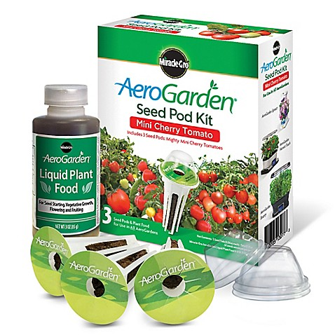 Miracle Gro 174 Aerogarden Heirloom Cherry Tomato Seeds 3