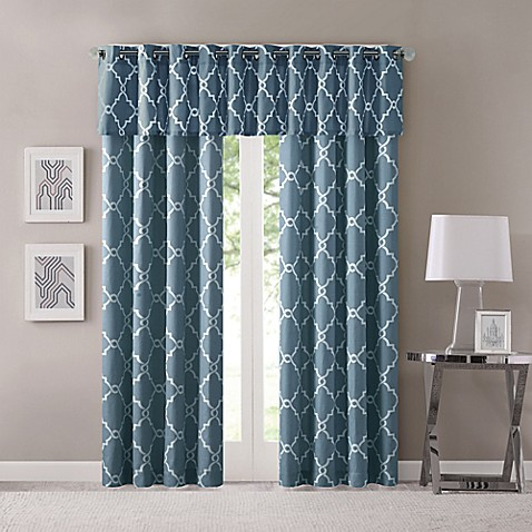 Curtains Ideas curtains madison wi : Madison Park Saratoga Grommet Top Window Curtain Panel and Window ...