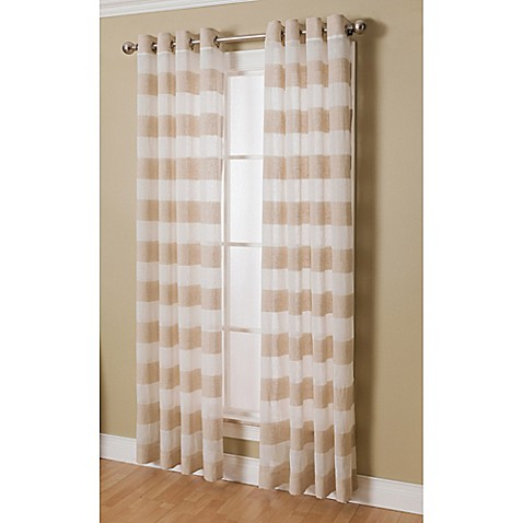 semi sheer curtain panels