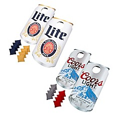 image of Beer Can Cornhole Bean Bag Toss Game