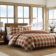 image of Eddie Bauer® Edgewood Plaid Comforter Set in Red