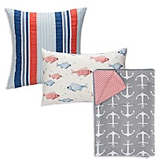 image of Glenna Jean Fish Tales Bedding Collection