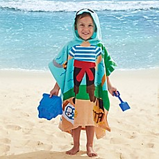 image of Pirate Kids Hooded Towel