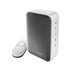 image of Honeywell Series 3 Portable Wireless Doorbell with Strobe Light and Pushbutton