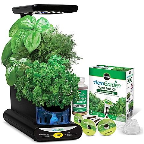 Aerogarden Indoor Garden Miracle gro aerogarden sprout led with gourmet herb seed pod kit personalization is required to add item to cart or registry workwithnaturefo