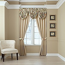 image of Croscill® Daphne Window Curtain Panels and Valance