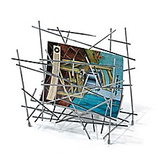 image of Alessi Blow Up Magazine Holder