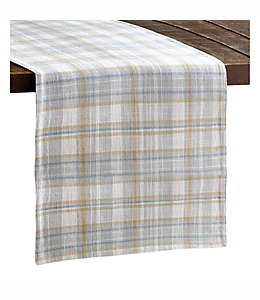 Camino de mesa de algodón Bee & Willow™ con diseño a cuadros multicolor de 2.28 m