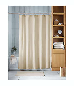 Cortina de baño Haven™ Double Gaze color gris pómez