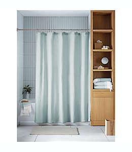 Cortina de baño de algodón orgánico Haven™ Double Gaze color gris