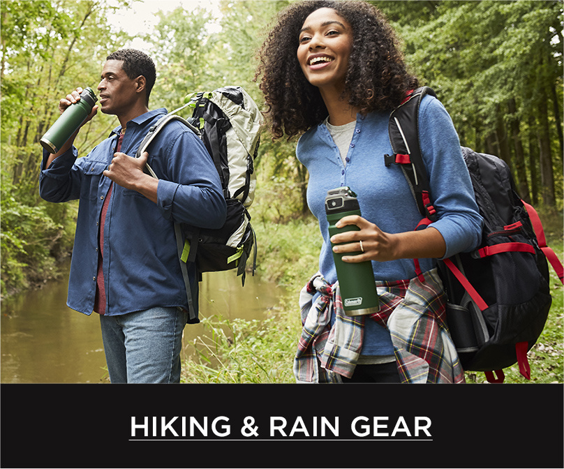 Shop Hiking & Rain Gear