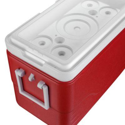Recipiente Termoplástico vermelho 28QT (26,5L)
