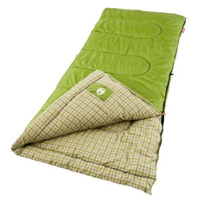 Saco de dormir flanelado Green Valley