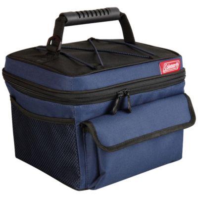 Bolsa térmica azul- 10 latas