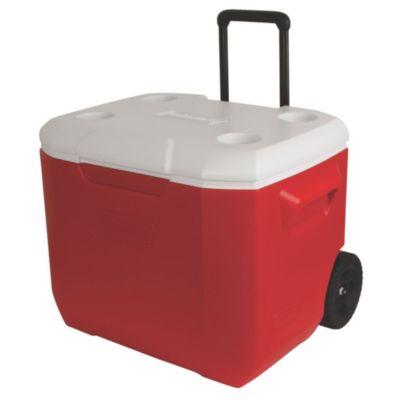 Recipiente Termoplástico vermelho c/ rodas 60QT (57 L)