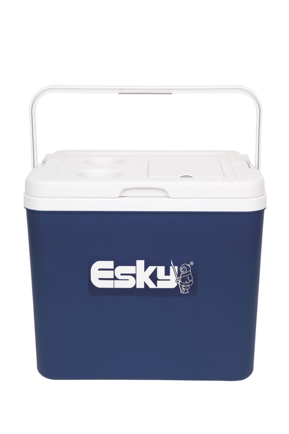 Esky® 33L Chilla Cooler with Easy Access Lid & Can Holders