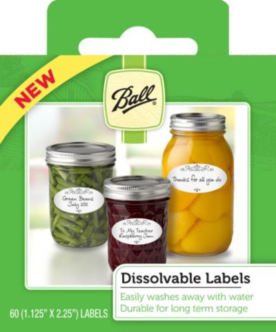 Ball® Dissolvable Labels