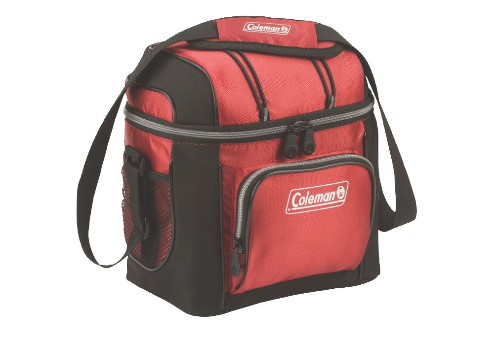 9 Can Soft Cooler Red