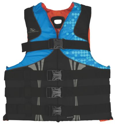 INFINITY SERIES ANTIMICROBIAL NYLON LIFE JACKET - S/M