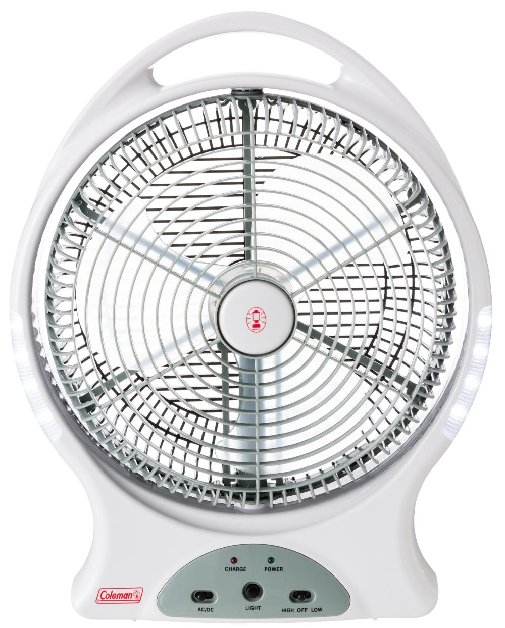 "12"" Rechargeable Fan With LED"