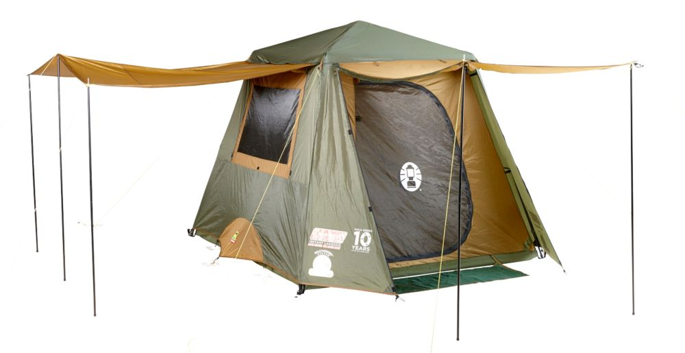 Awning for Tent Instant Up 4P Gold
