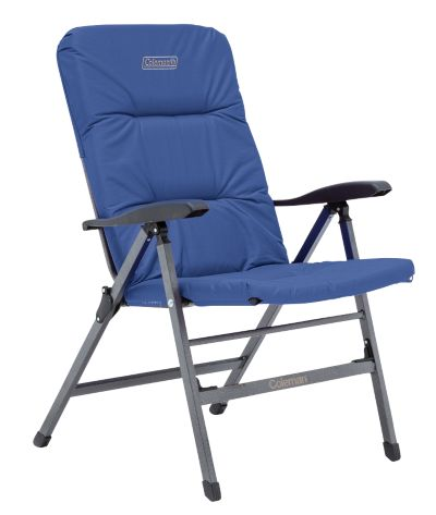 Chair Flat Fold Pioneer Recliner (Navy)