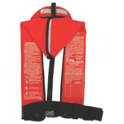 1470 Ultra Commercial Automatic/Manual Inflatable Life Jacket with Back Flap image 2
