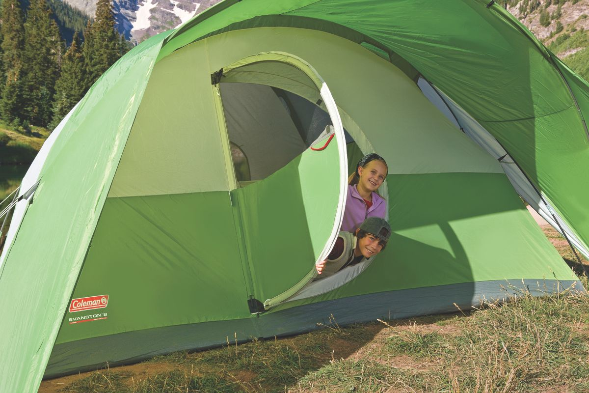 Coleman Evanston 8 Person Tent Amp Product Image 183 Coleman