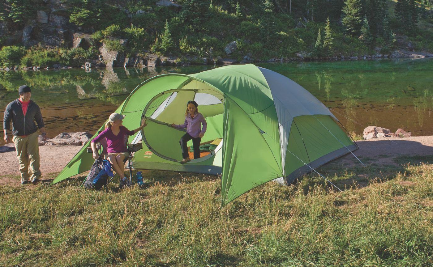 ... Evanston™ 8-Person Tent  sc 1 st  Coleman & 8 Person Tent | Big Camping Tents | Coleman