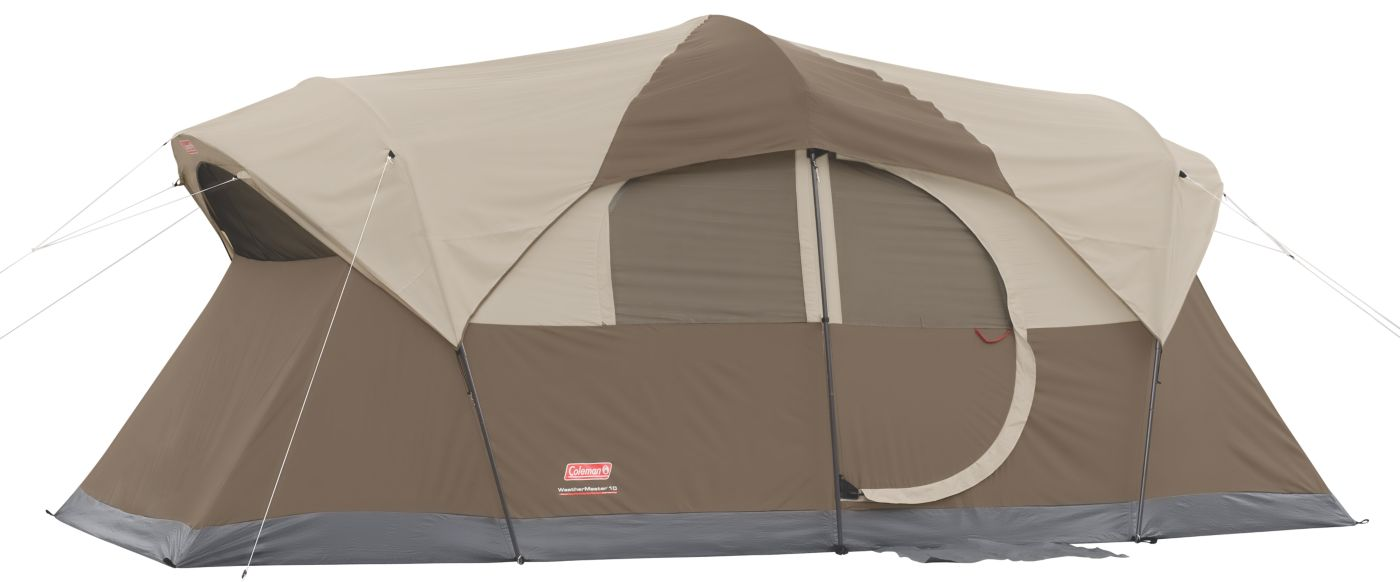 WeatherMaster® 10-Person Tent  sc 1 st  Coleman & 10 Person Tent | Big Camping Tents | Coleman