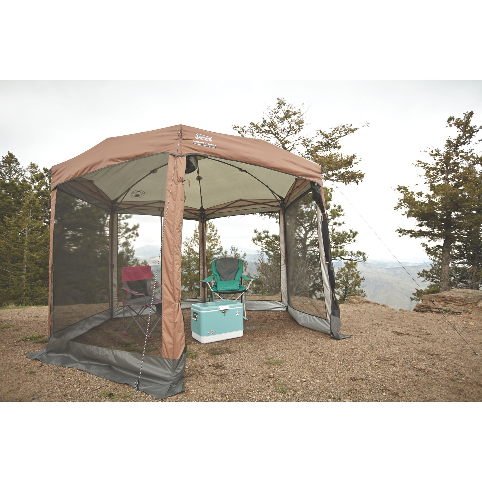 newest collection 413dc 9821d Instant Screened Canopy 12 ft. x 10 ft. | Coleman