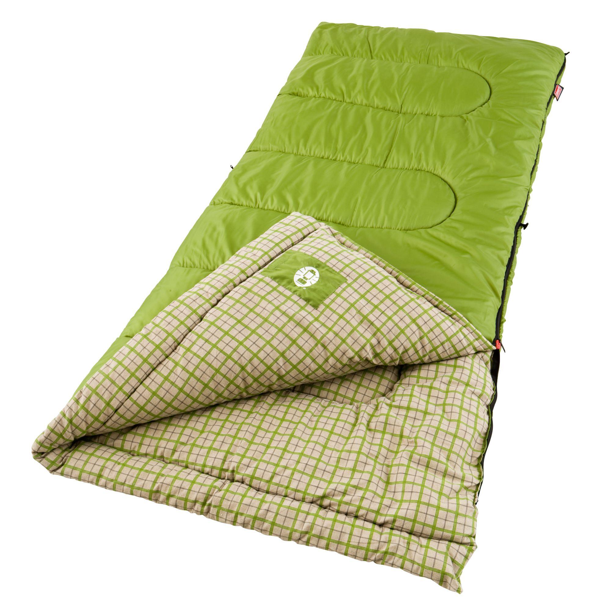 Green Valley Cool Weather Sleeping Bag Coleman