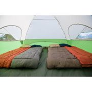 Rectangle sleeping bags inside tent image number 3