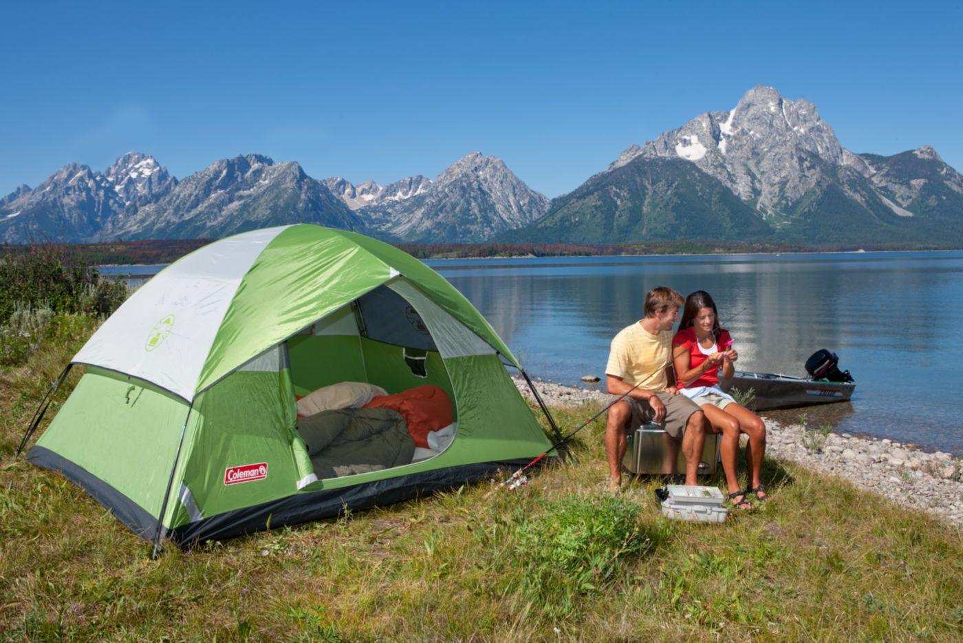 ... Sundome® 4-Person Tent  sc 1 st  Coleman & Coleman Dome Tents | 4 Person Tent | Coleman