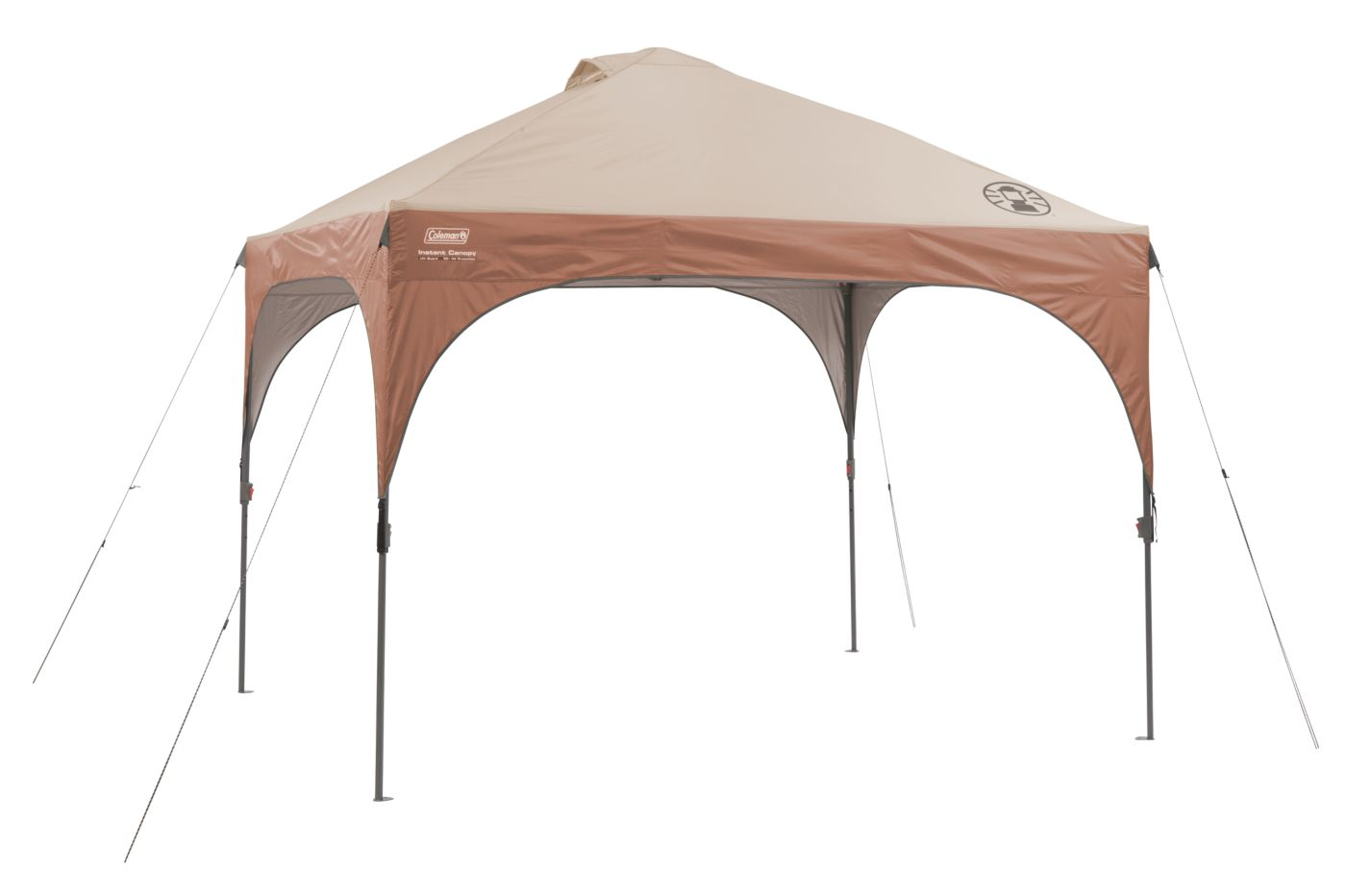 10 x 10 Lighted Instant Canopy  sc 1 st  Coleman : brown canopy - memphite.com