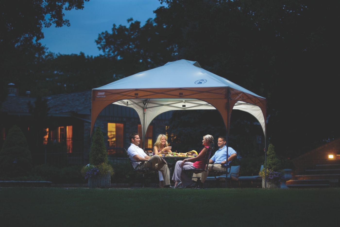 ... 10 x 10 Lighted Instant Canopy image 2 ...  sc 1 st  Coleman & 10 x 10 Lighted Instant Canopy | Coleman