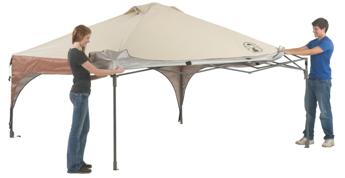 ... 10 x 10 Lighted Instant Canopy ...  sc 1 st  Coleman & Coleman Instant Canopy | Instant Canopy | Coleman