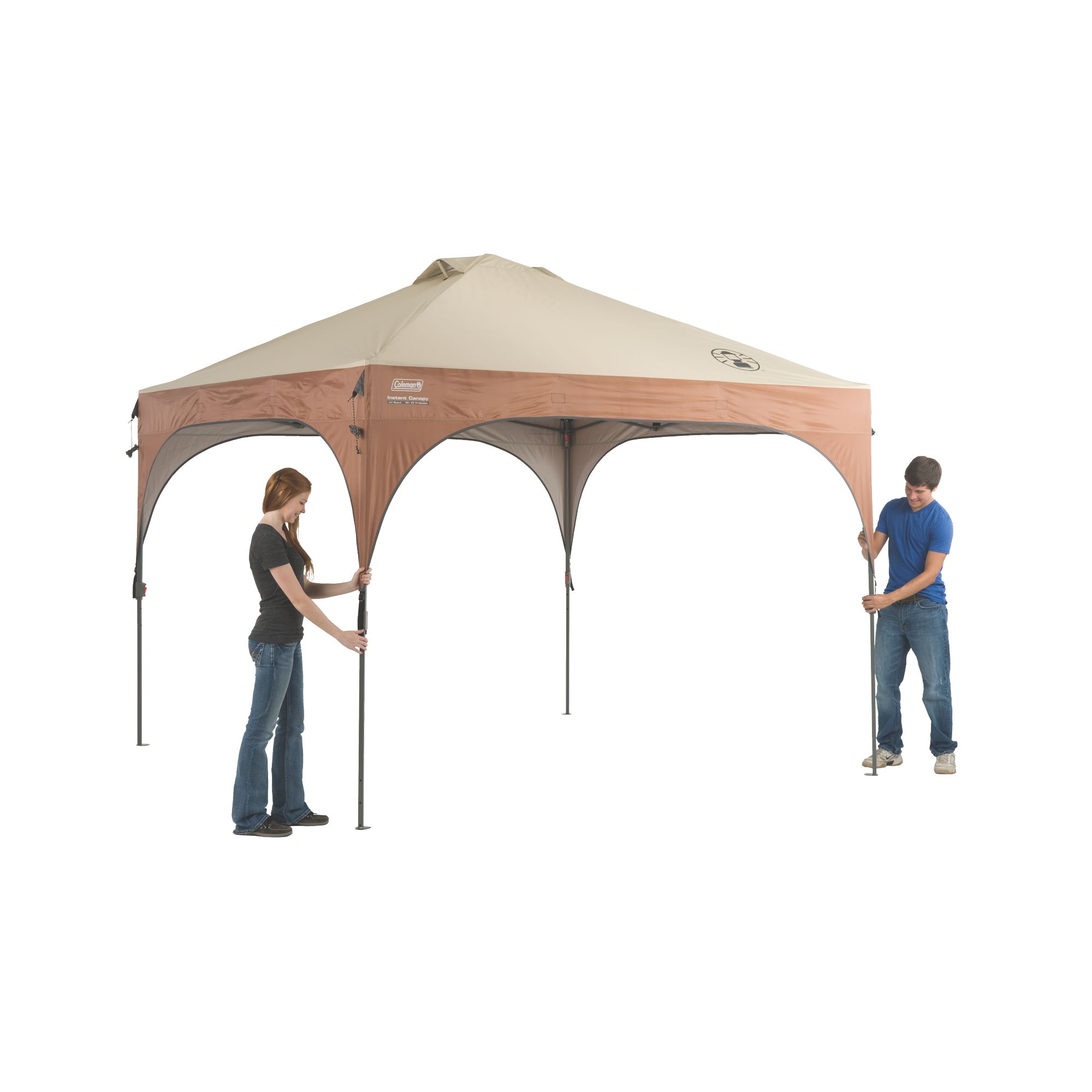 10 X Lighted Instant Canopy