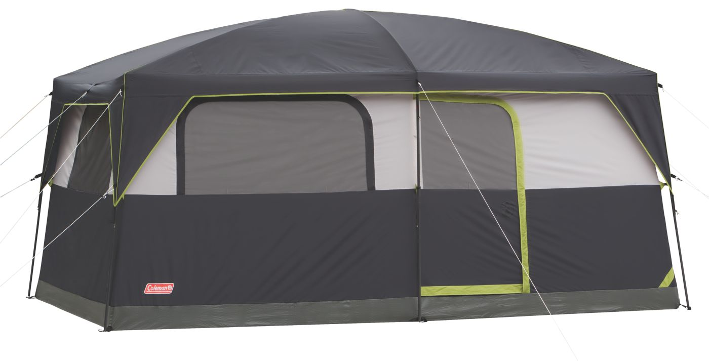 Signature Prairie Breeze™ 9-Person Tent  sc 1 st  Coleman : coleman 10 x 10 lighted canopy - memphite.com